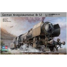 Hbb82901 - Hobbyboss 1:72 - German Kriegslokomotive Br 52