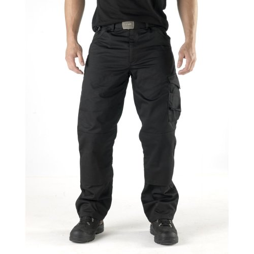 Scruffs Worker Trousers Black Men's