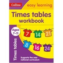 Collins Easy Learning Ks2: Times Tables Workbook Ages 7-11