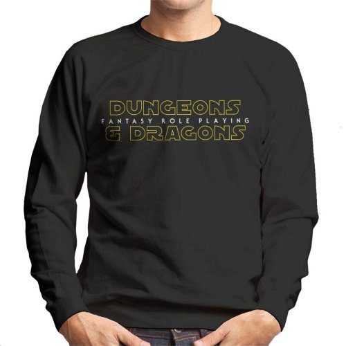 Dungeons And Dragons Fantasy Role Playing Men's Sweatshirt