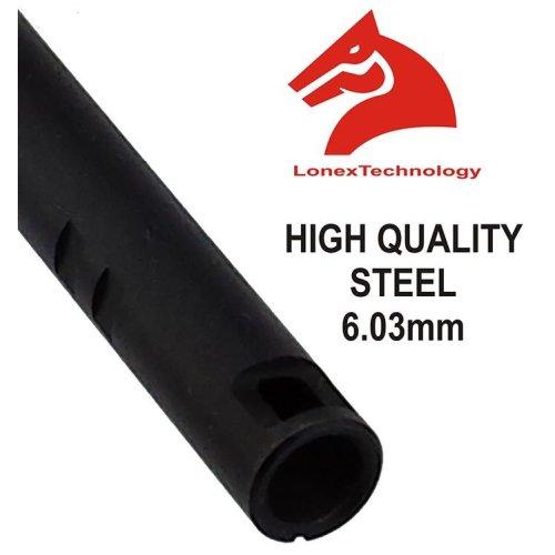Airsoft Inner Barrel 6.01 6.3 6.03 Tight Bore Uk 285 Mm Steel Lonex Asg