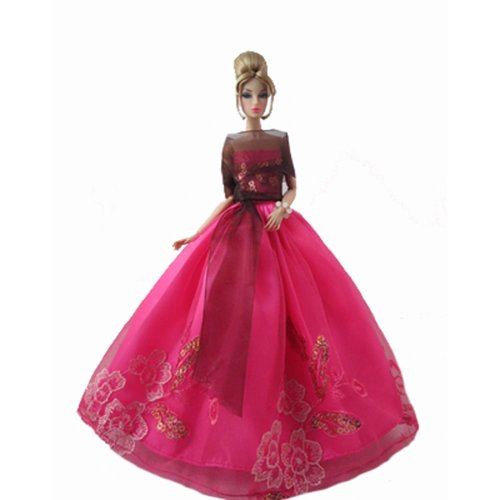 Clothes Doll Variety Of High-End Wedding Dress Wedding Clothing Doll