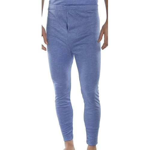 Click THLJL Thermal Long Johns Blue Large