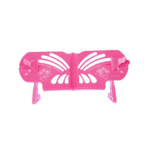 Creative Book Stand Reading Holders Bookends Book Racks, Pink Flower