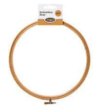 "8"" Wooden Embroidery Hoop -  8 wooden embroidery hoop inch cross stitch sewing accessories"