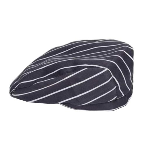 [Stripe] Kitchen Chef Hat Restaurant Waiter Beret Bakery Cafes Beret