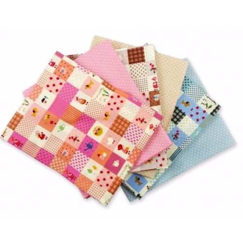 Fat Quarter Bundle - 100% Cotton - Tilly May - Pack of 6