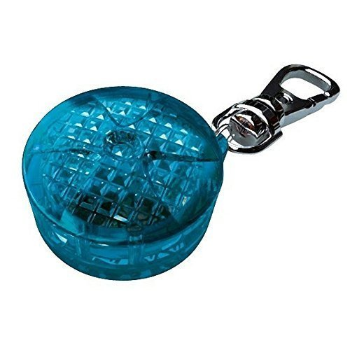 Trixie Safer Life Flasher For Dogs And Cats, 3.5 Cm, Blue - Cats Nightcm 13442 -  flasher trixie blue dogs cats night safer life cm 13442 light tag