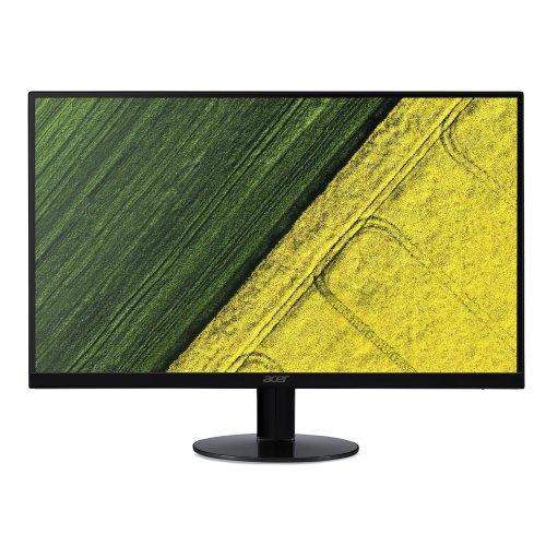 Acer SA230bid 23 Inch FHD Monitor, Black (IPS Panel, 4 ms, ZeroFrame, HDMI, DVI, VGA)