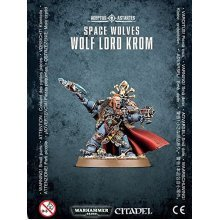 Warhammer 40k Space Wolves Wolf Lord Krom (2016)