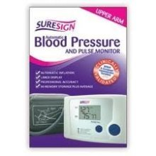 Suresign Blood Pressure & Pulse Monitor - Automatic Fully Upper Arm New Digital -  suresign blood pressure pulse monitor automatic fully upper arm