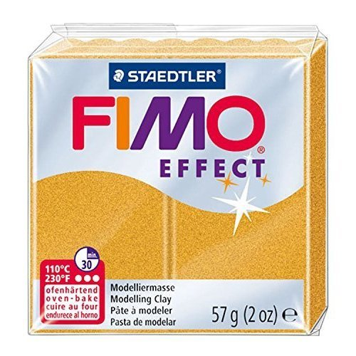 Staedtler - Fimo effect 57g, Metallic Gold