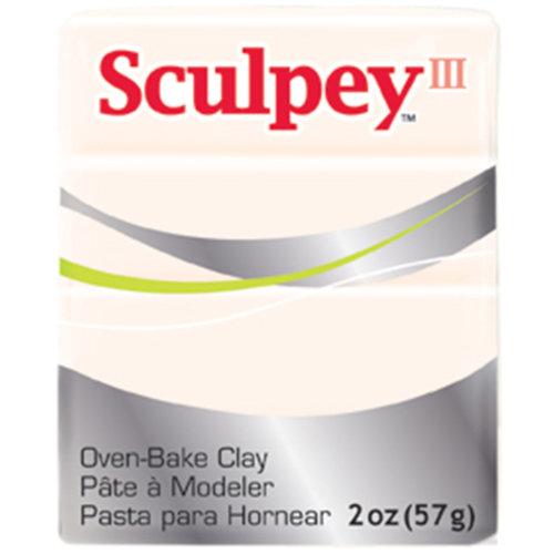 Sculpey III Polymer Clay 2oz-Translucent