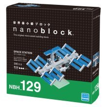 Nanoblock - Space Station (NBH 129)