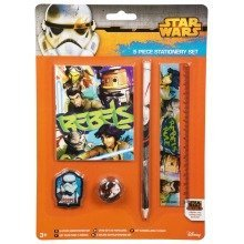 Star Wars Rebels Stationery Set - 5 Items