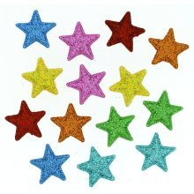 Starlight, Starbright - Novelty Craft Buttons / Embellishments by Dress It Up
