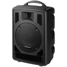 Monacor TXA-802CD Wired Black audio amplifier
