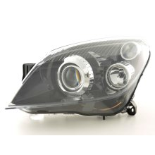 Spare parts headlight left Opel Astra H GTC Year 05-10