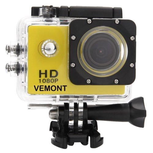 Vemont Full HD 2.0 Inch Action Camera 1080P 12MP Sports Camera Action Cam Underwater 30m/98ft Waterproof Camera and Mounting Accessories Kit for...