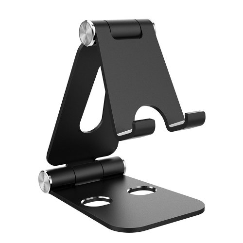Tablet Stand, Simpeak Dual Foldable Aluminum Stand Universal Phone Stand Holder