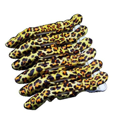 6 Pcs Professional Hair Salon hair clips/ Crocodile Hair Styling Clips