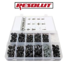 RESOLUT Volvo Assorted Trim Clips 350 Pieces 9035