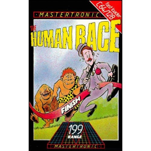 Human Race for Commodore 64 by Mastertronic