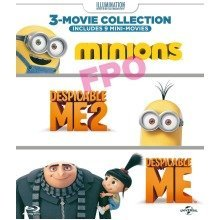Despicable Me, Despicable Me 2 & Minions Collection | 3-in-1 DVD