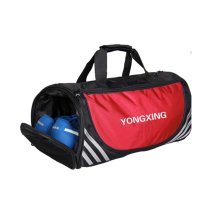 Large Sports Duffle Bags Gym Accessories Bags Travel Bag with Shoes Compartment, B