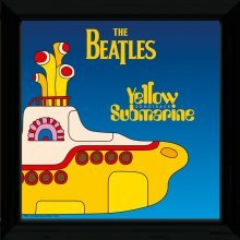 The Beatles Yellow Submarine 1 Framed Album Cover