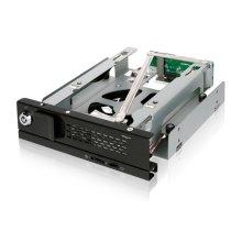 "Icy Dock MB171SP-B 3.5"" Black storage drive enclosure"