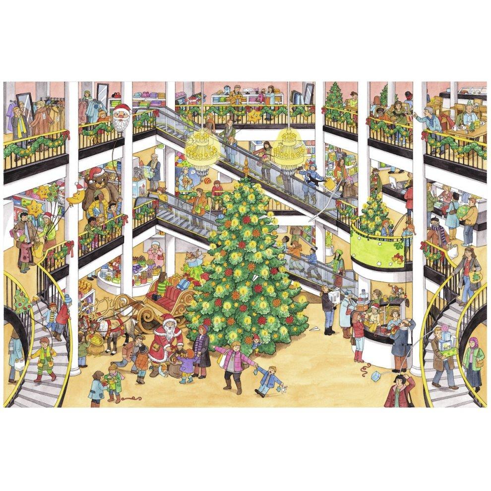Wimmelbuch Weihnachten.Mein Superdickes Wimmelbuch Weihnachten
