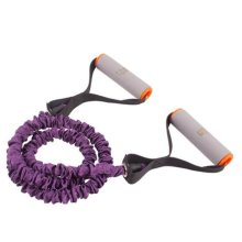 Fitness&Exercise Band Shaped Rope Expender High-elastic Resistance Purple