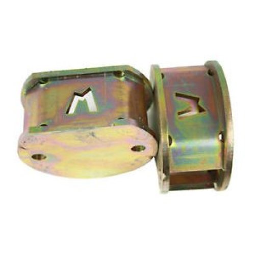 """""""TERRAFIRMA TF525 PAIR OF +2 INCH FRONT COIL SPRING SPACERS DISCOVERY 2 """""""