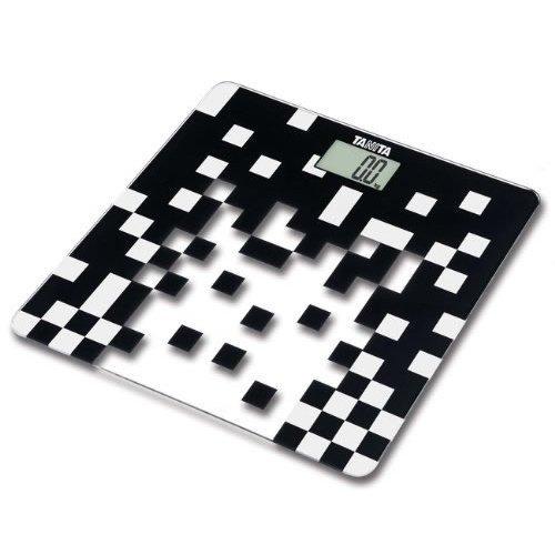 Tanita Glass Digital Bathroom Scale - Black