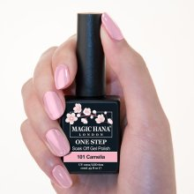 Magic Hana One Step UV LED Gel Polish Pink?101 Camelia