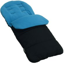 Footmuff / Cosy Toes Compatible with Easywalker Pushchair Ocean Blue