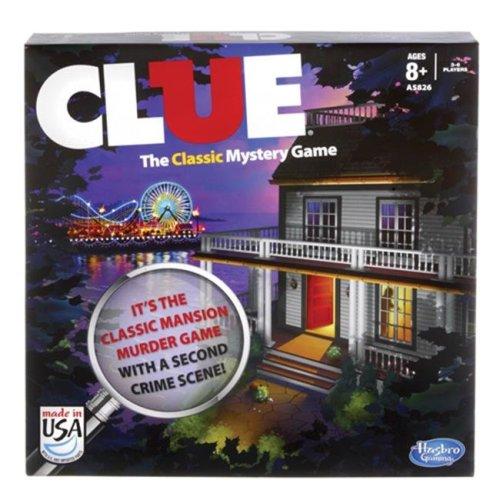 Hasbro 4038XXXX Clue The Classic Mystery Game
