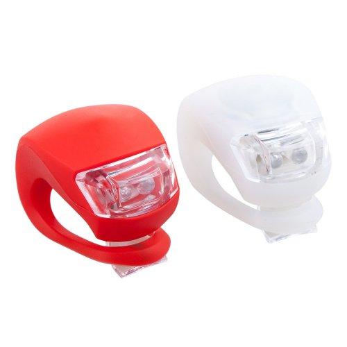 Trixes 2 LED Front & Rear Road Bike Lights