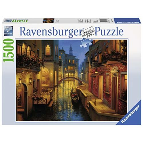 Ravensburger Waters Of Venice Jigsaw Puzzle 1500Piece