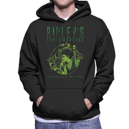 Ripleys Childminding Aliens Men's Hooded Sweatshirt
