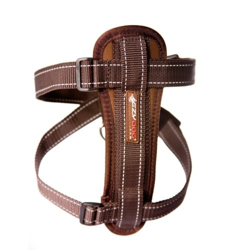 EZY-DOG CHESTPLATE HARNESS ( CHOCOLATE )