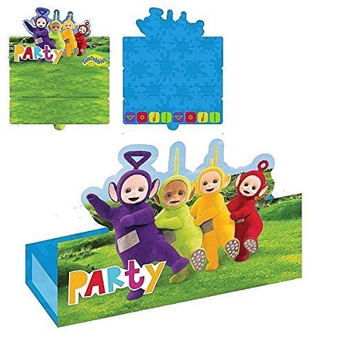 Teletubbies Stand-up Invitations & Envelopes
