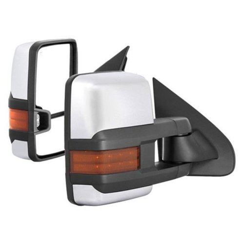 Spyder S2Z-9936777 Driver & Passenger Side Heated Power Towing Mirrors for 2014-2016 Chevy Silverado