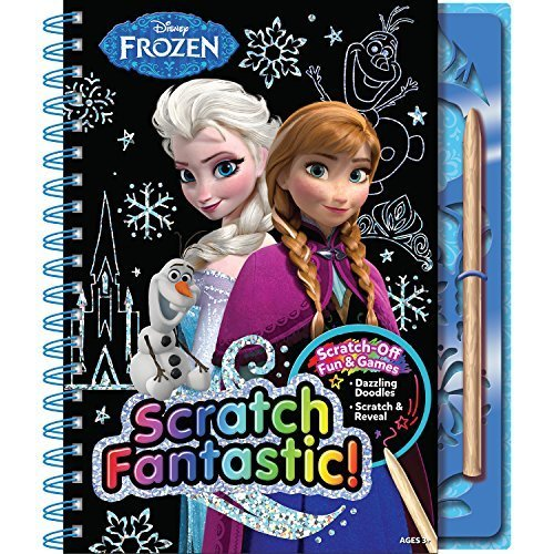 Bendon Frozen Scratch Fantastic Activity Book