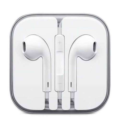 SHAATI Earphones, Headphones with Mic for iPhone SE/5S/5C/5/6/6 Plus and more (White)