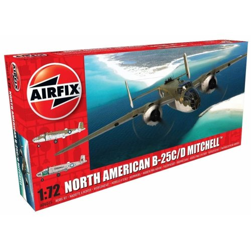 Airfix A06015 Other North American B25C/D Mitchell Model