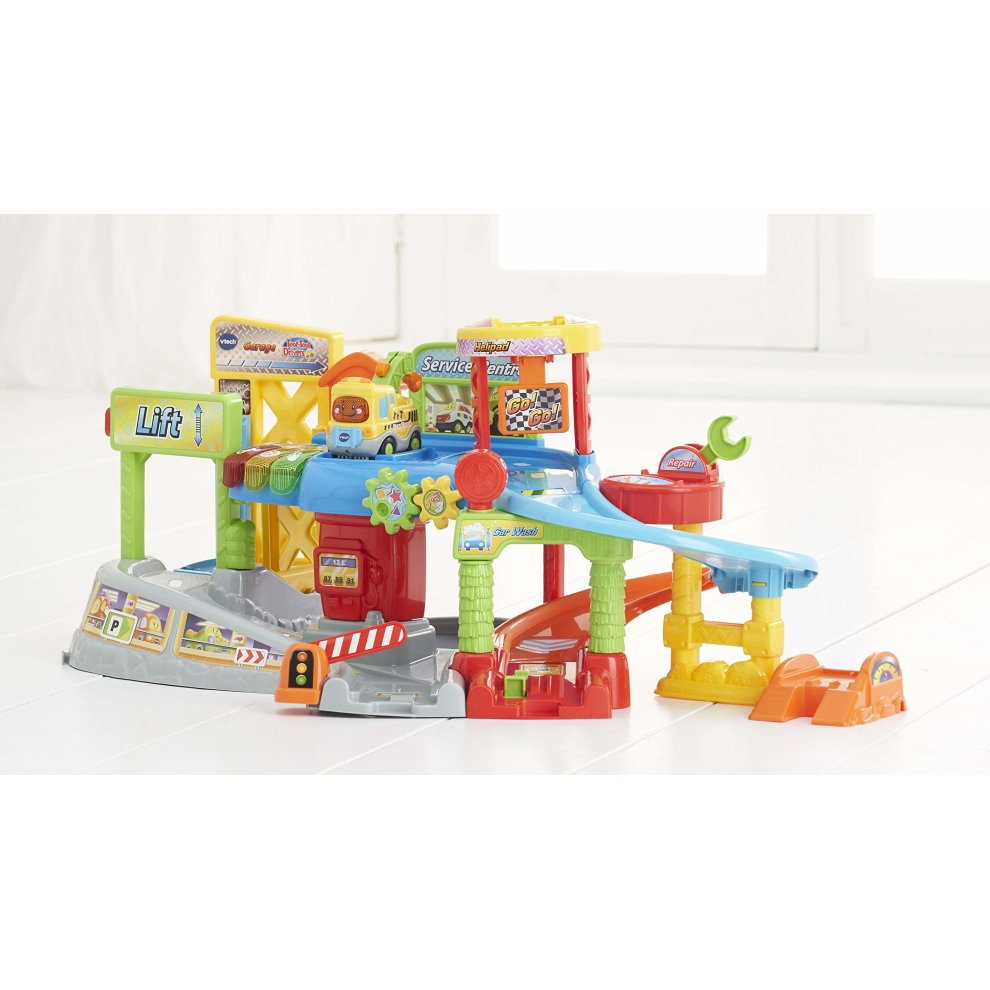 Vtech 512703 Toot Drivers Garage Multi Colour On Onbuy