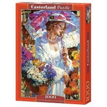 Csc103294 - Castorland Jigsaw 1000 Pc - Chrysanthemums in the Garden